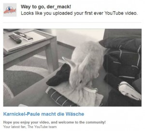 Paul auf youtube