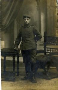 Alois Mack - Soldat im Ersten Welkrieg