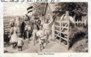 Postkarte an Franz Mack - Bevor er an die Front kam