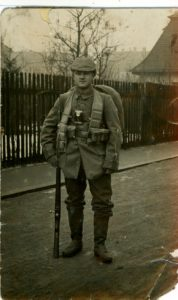 Franz Mack, Erster Weltkrieg